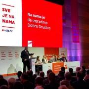 Židan na konvenciji SDP Hrvatske