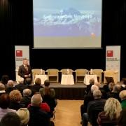 Predsednik SD Židan - uvod v posvet