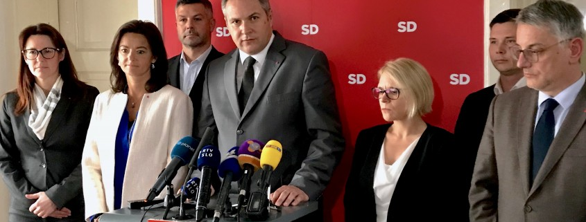 Vodstvo SD v izjavi za medije