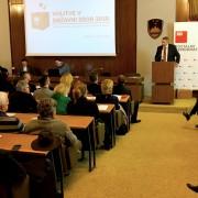 Židan v nagovoru kandidatom SD za DZ volitve