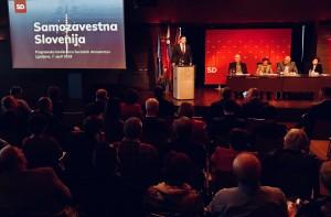Davor Bernardić na programski konferenci SD