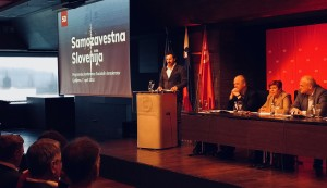 Patrick Vlačič na programski konferenci SD