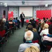 Zbor socialne demokracije v Mariboru