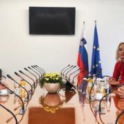 Meira Hot in Matjaž Nemec z italijanskim veleposlanikom