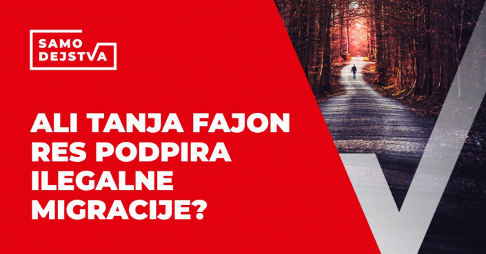 SamoDejstva: Ali Tanja Fajon res podpira ilegalne migracije?